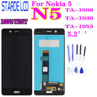 Tested AAA STARDE Replacement LCD for Nokia 5 N5 TA-1008 TA-1030 TA-1053 LCD Display Touch Screen Assembly Digitizer Assembly