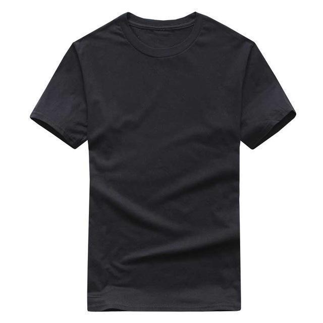 plain black tshirt