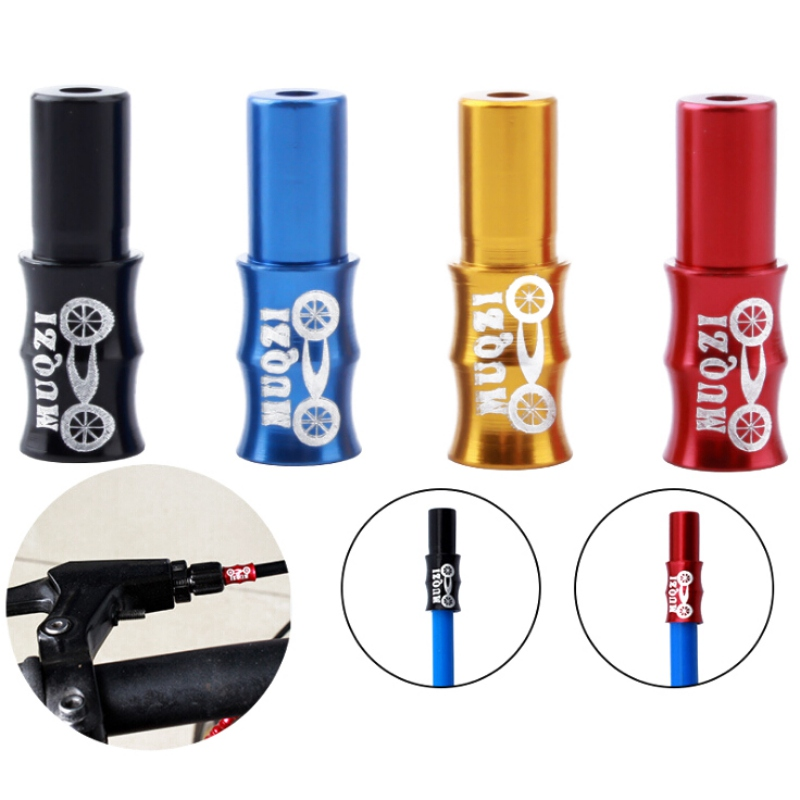 End Cap 10 Set Bicycle Cable Ends COLOUR Ferrules Alloy Alu Brake Or Gear