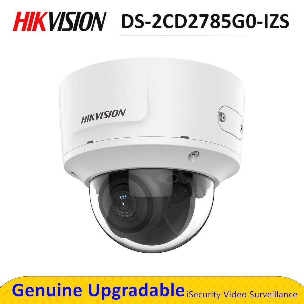 Hik – caméra de Surveillance IP PoE 8MP ik10 darkfighter, DS-2CD2785G0-IZS Onvif, pour l'extérieur, sécurité CCTV, Vision nocturne