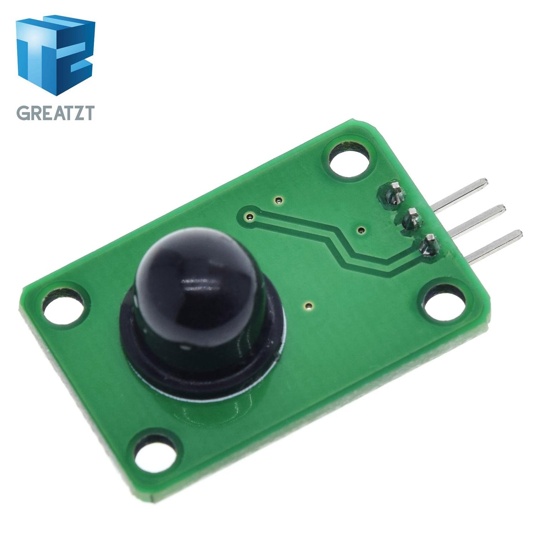 GREATZT Pyroelektrische Infrarot Sensor Menschliches Körper Erfassungs PIR Motion Sensor Modul für Arduino MCU Board 120 grad