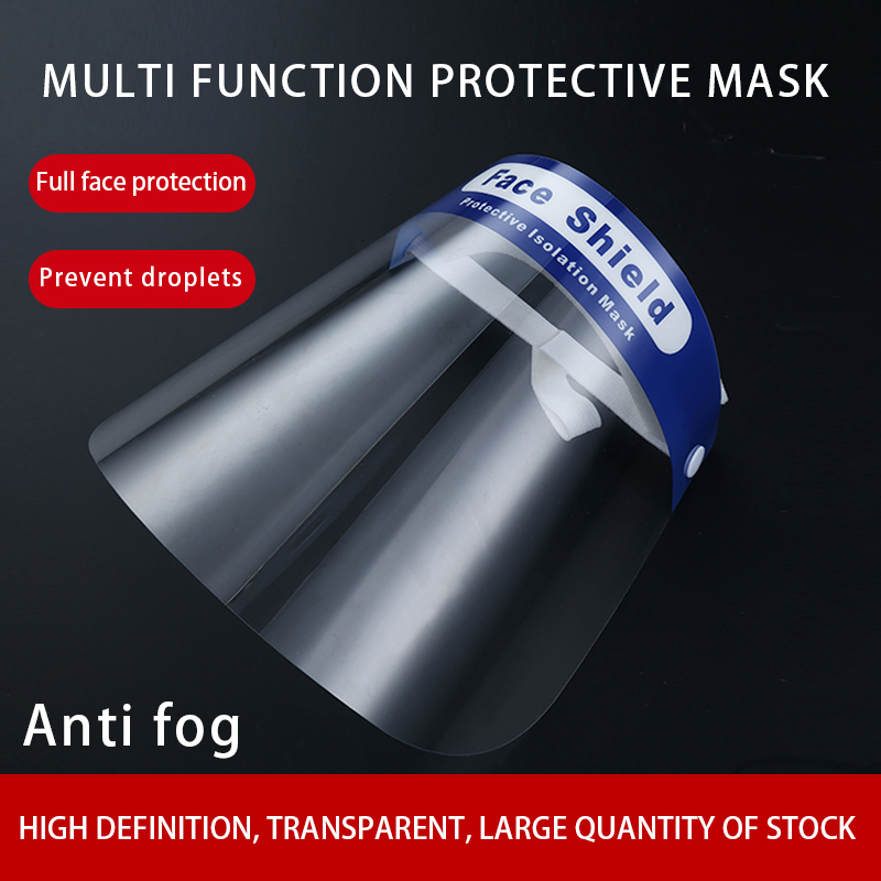 10pieces/Lot Multifunctional Anti-smoke Anti-spray Protective Mask Kitchen Cooking Cooking Oil Splash-proof Transparent Mask
