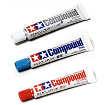 Tamiya 87068+87069+87070 Model Polishing Compound Coarse/Fine/Finish 22ml Set