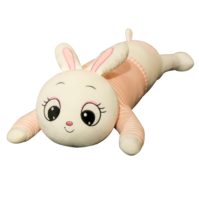Baby Animal Rabbit Pillow Children Pig Sleeping Cushion Room Baby Bed Pillows Decoration Kids Doll Baby Seat Plush Kids Gift