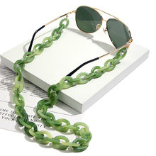 JUST FEEL Fashion Acrylic Sunglasses Chain Reading Glasses Chain Hanging Neck Holder lanyards Strap