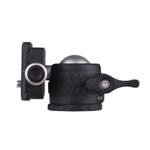 Image 5 - Andoer Mini Tabletop Ball Head 360 Degree Video Tripod Ballhead Mount with Quick Release Plate Bubble Level for Canon Nikon Sony