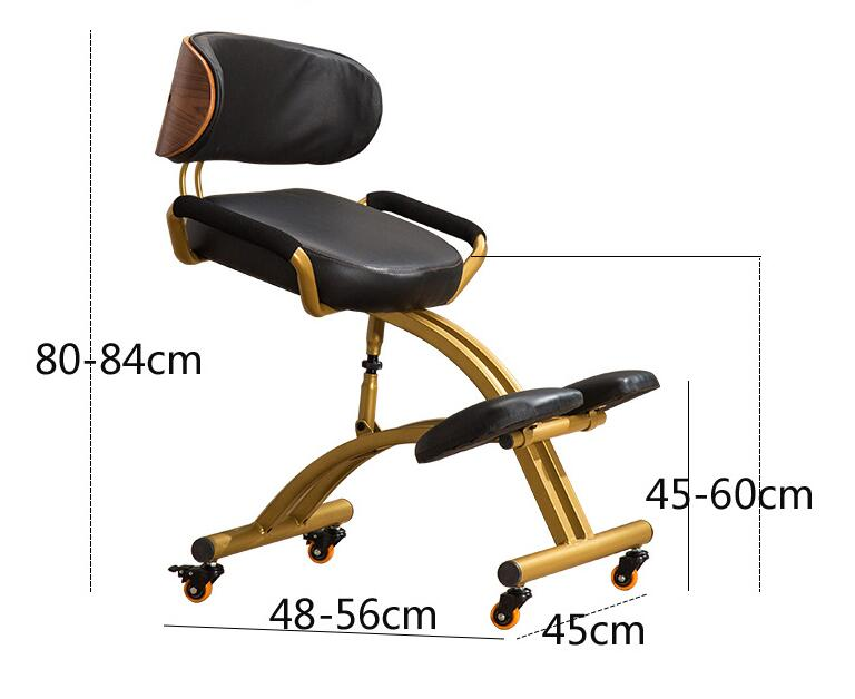 Ergonomic Kneeling Chair For Office And Home Knee Chairs Stool Comfortable Thick Cushion Orthopedic Back Pain Seat Adjustable Office Chairs Aliexpress