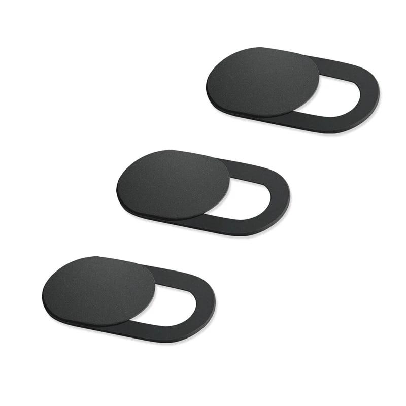 Cute Web Cam Block Slider for Laptop 3 Pack| Ultra Thin Laptop Camera Cover Desktop Protect Your Privacy Dog Black Webcam Cover Slide Tablet /& Phone