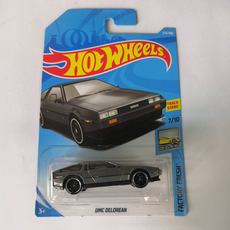 Hot Wheels 1:64 Car DMC DELOREAN BACK TO THE FUTURE Collector Edition Metal Diecast Cars Kids Toys Gift