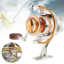 купить Yumoshi Salt Water Fishing Reel Molinete Feeder Carretilha de pesca 12bb 5.5:1 High Quality Spinning Fishing Reels по цене 631.77 рублей