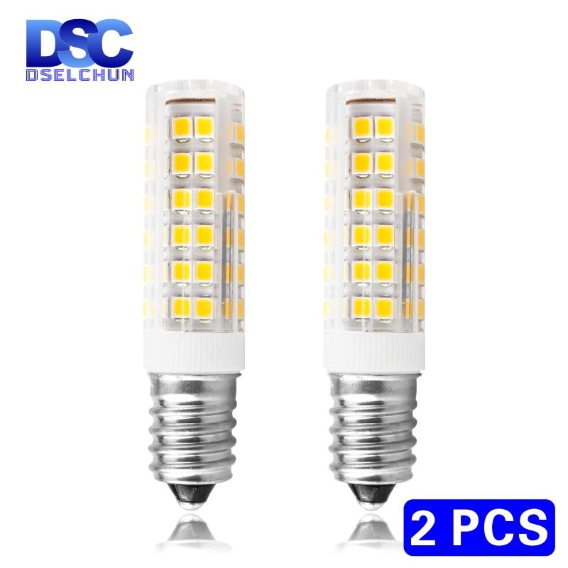 2pcs/lot 3W 4W 5W 7W E14 LED Bulb Lamp 220V-240V Mini Corn Bulb Light 2835SMD 360 Beam Angle Replace Halogen Chandelier Lights