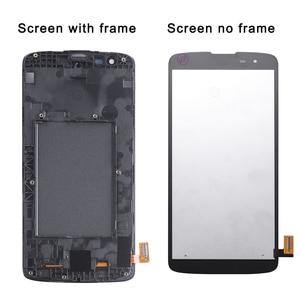 Image 3 - חדש 5.0 LCD עבור LG K8 LTE K350N K350E K350DS LCD תצוגה עם מסך מגע Digitizer עצרת