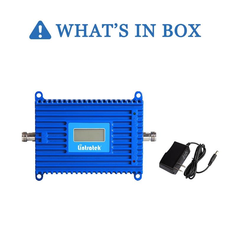 Lintratek 70dB AGC 3G Repeater 2100MHz Band 1 UMTS Mobile Signal - Reservdelar och tillbehör för mobiltelefoner - Foto 6