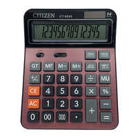 Gtttzen Electronic Desktop Calculator Ct-8840 with 14 Digit Large Display Solar Battery Multi-Function Office Calculator