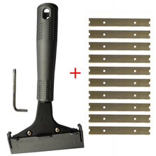 Long Handle Scraper Blades Floor Tile Adhesive Removal Ceramic Cleaning Shovel Glass Wall Clean Wallpaper Stripping Tool E29+10(China)