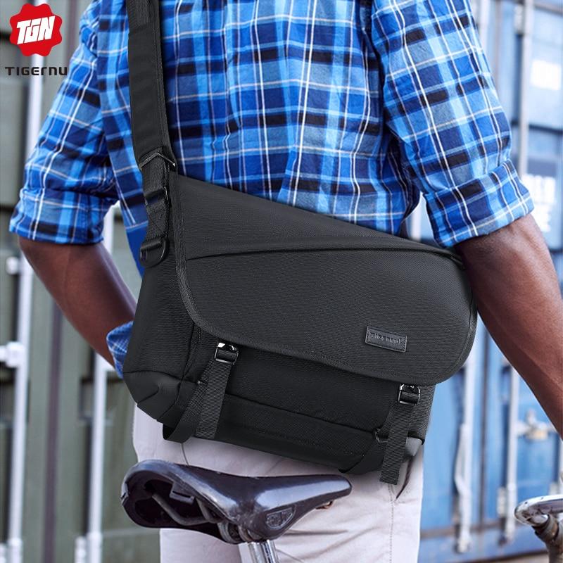 Tigernu Casual Messenger Bag Anti Theft Crossbody Bag Riding Shoulder Bag High Quality Original Fashion Oxford Small Bag For Men