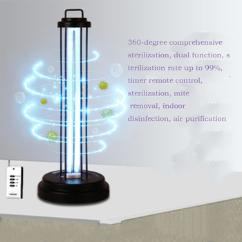 38W Germicidal Light Bulb UV Ozone Ultraviolet Lamp 110V/220V Quartz Lamp UVC Sterilizer Home Kill Mite Disinfection Air Clean