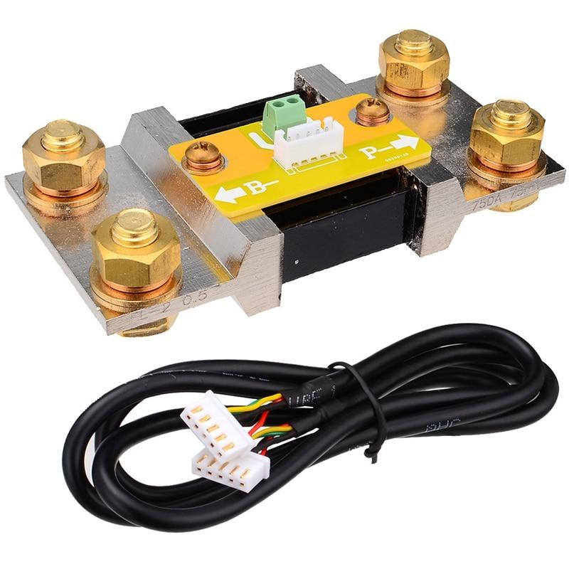 TF03 100V 500A универсальный тестер емкости батареи индикатор напряжения тока панель кулонометр - 2