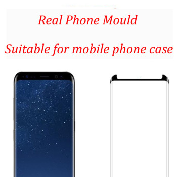 3D Curved Full Cover Tempered Glass Screen Protector For SAMSUNG Galaxy S8 S8 Plus Protective Film Case Friendly image