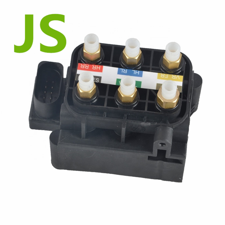 Solenoid Valve Block For Mercedes Benz 06-18 <font><b>GL</b></font>/ ML (W164/166, <font><b>X164</b></font>/166), 07-17 S(W221/222), 06-13 CL (W216), 10-12 R(W251) image