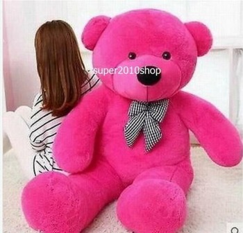 Giant 47'' Rose Teddy Bear Plush Soft Toy Huge Stuffed Doll Birthday Xmas Gifts Stuffed Animals Plush Doll hot new lovely giant american bear plush toy stuffed animals teddy bear doll pillow kids girls popular valentine birthday gift