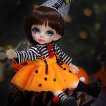 Pukifee Spring Fairyland bjd sd doll 1/8 body model  baby girls boys dolls eyes High Quality toys shop OUENEIFS