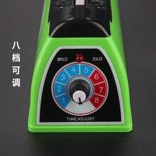 Стиль Sx-200 пищевая алюминиевая фольга мешок ручного давления запайки машина для запечатывания пластиковой пленки упаковочное оборудование