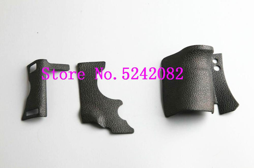 New Original a set of rubber body 3pcs front cover and back cover rubber for Canon FOR EOS 5D Mark II 5D2 repair spare parts title=