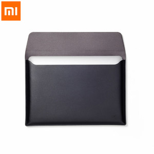 Image 1 - Xiaomi Laptop Liner Bijgewerkte Versie Pu Materiaal 12.5 Inch 13.3 Inch Voeringzak Notebook Voor Macbook Air Draagbare En Dunne