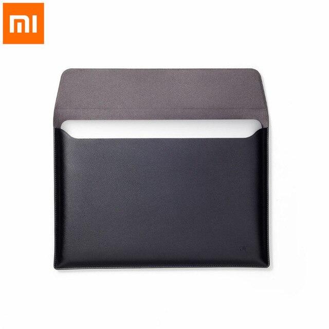 Xiaomi Laptop Liner Bijgewerkte Versie Pu Materiaal 12.5 Inch 13.3 Inch Voeringzak Notebook Voor Macbook Air Draagbare En Dunne