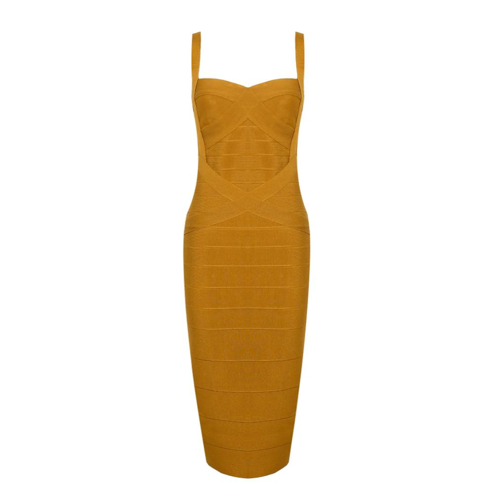 Deer Lady Winter Bandage <font><b>Dresses</b></font> 2019 New Bodycon Celebrity Evening Party <font><b>Dress</b></font> <font><b>Midi</b></font> V Neck <font><b>Sexy</b></font> White Bandage <font><b>Dress</b></font> Spaghetti image