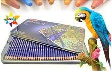 72 cor artista Cor do lápis de cor Chumbo цветной свинец Plomo de colores arte desenhar Lápis Inktense Derwent Solúvel Em água