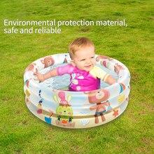 Basin Bath-Tub Swim-Pool Outdoor Baby Inflatable Children Summer Round Cartoon 1pcs Volcano-Print