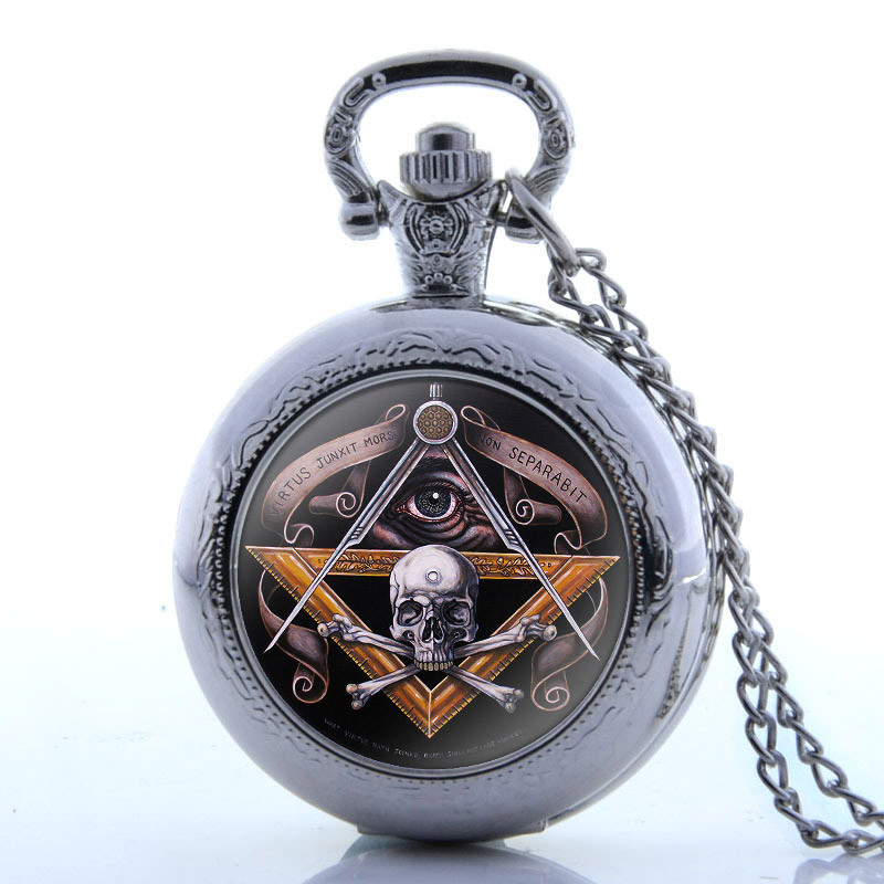 Hot Sale Vintage Pocket Watch Chain Retro The Greatest Necklace For Grandpa Dad Gifts
