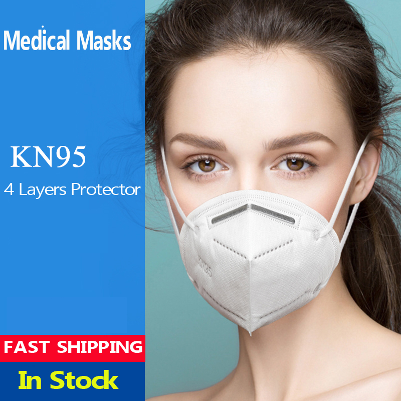 FFP2 KN 95 Mouth Mask Coronavirus Covid 19 Filter Antibacterial Pollution Mondmasker Reusable Washable N95 Respirator Masks Face