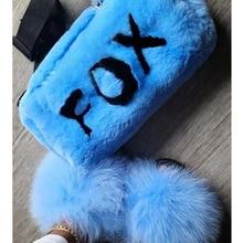 Fur Slippers Designer Shoes Raccoon-Fur Fluffy Wholesale Summer Women Amazing