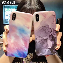 Soft Silicone IMD Marble Case for iphone X XS Max XR 6 7 8 Plus Case Art Ink Painting Pattern Cover For iphone 6s 7 8 Plus Cases oaxis inkcase ivy e ink reader for iphone 8 7 6s
