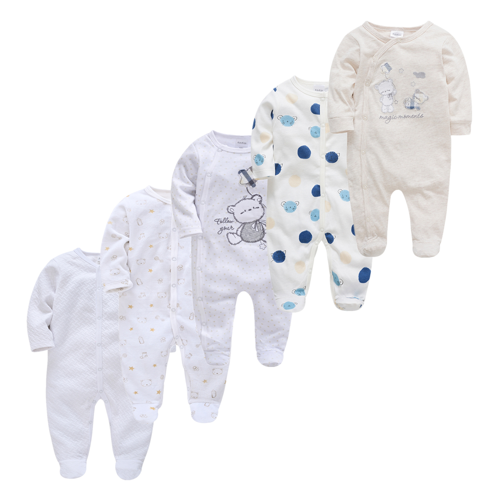 bebes fille New Baby Rompers Roupas bebe de Baby Girl Boy Pijamas Cotton Breathable Soft ropa bebe Newborn Sleepers Baby Pjiamas