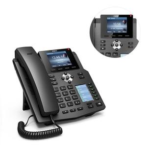 Image 5 - Fanvil x4/x4g ip 전화 엔터프라이즈 voip 전화 hd 음성 사무실 sip 전화 지원 ehs 무선 헤드셋 무선 고정 전화