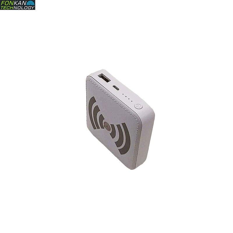 FONKAN MINI UHF Bluetooth UHF RFID Reader RF Card Reader Module Handheld Electronic Tag Remote Inventory