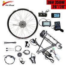 Bafang 36v 350w e bike conversion kit with battery rear rack