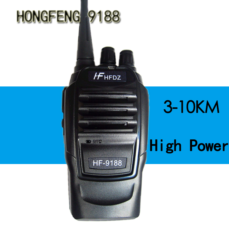 HF-9188 KTV Outdoor Civil Hand Professional High-power Walkie Talkie Handy Two-Way Radio Station Transceiver Communicator