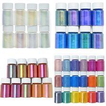 1Set Chrome Pearl Shell Powder Nail Art Glitter Pigment Unicorn Powder For Long Lasting Manicure Nail Tip DIY Gel Polish Dust H&