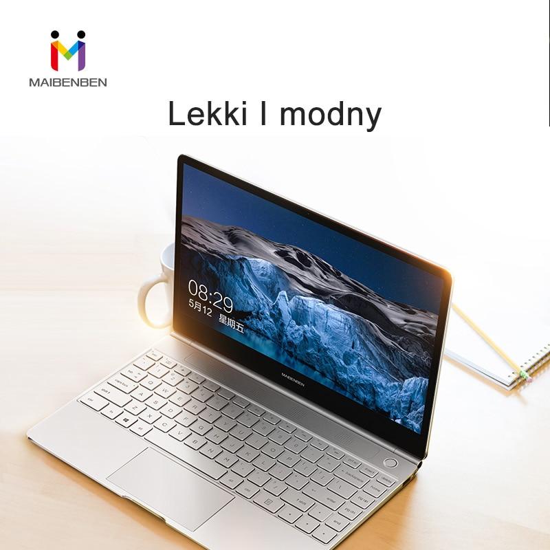 MAIBENBEN  JINMAI 6 Laptops 13.3'' ADS Screen/Windows 10/ 8th Gen Intel N4100/8G RAM/480G SSD Free Shipping