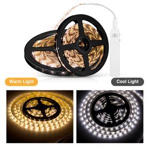 LED Strip Body Induction Lamp with Dc Battery Box Intelligent Low Voltage 5V Waterproof Light Family Corridor Decoration Lamp