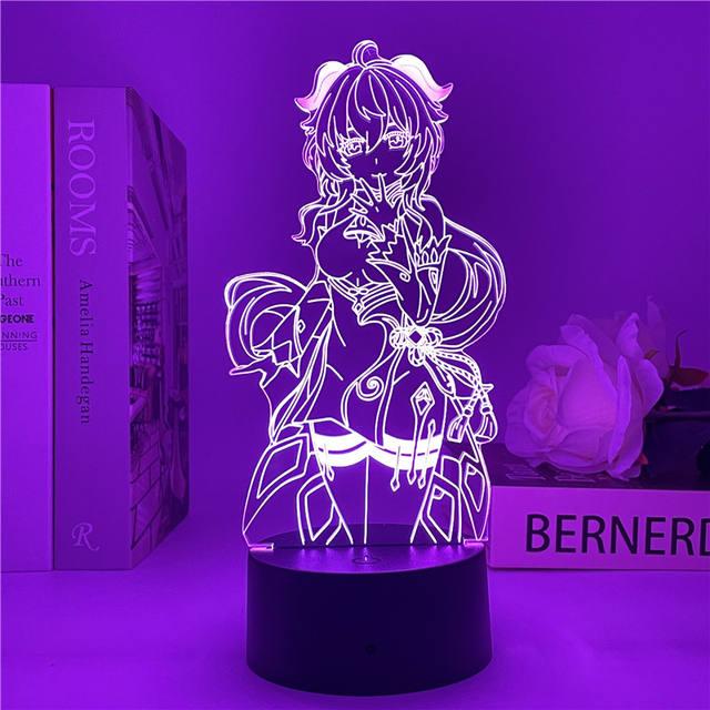 GANYU GENSHIN IMPACT THEMED 3D LED LIGHT