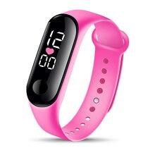 Fashion Bracelet Watch Children Watches Kids for Girls Boys Sport Electronic Wristwatch