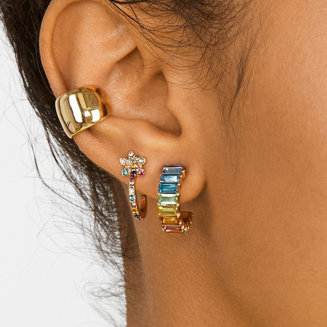 Unique styles of Ear Cuff Set 4