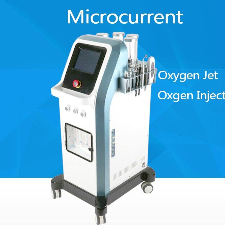 7 In 1 Hydra Facial Microcurrent HydraOxgen Injector Spa Machine 8 Bar Oxygen Jet Peel Water  Israel Technology