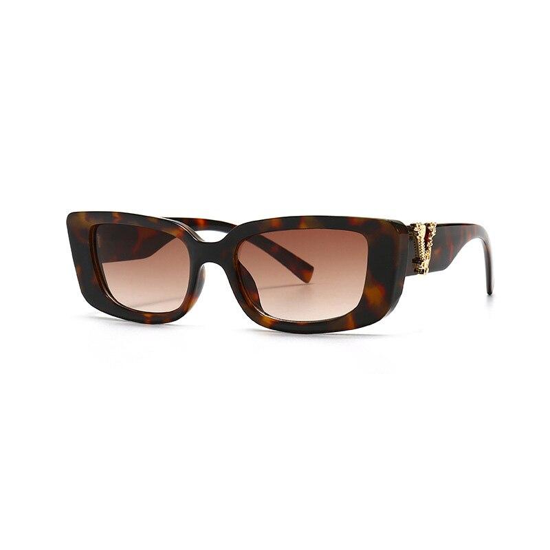Retro Small Rectangle Sunglasses Candy Colors Gradient Sun Glasses Shades UV400 7